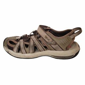 Teva Rosa Sport Sandals Tan Brown Size 6